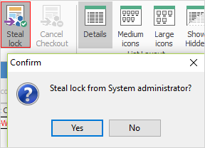 steal lock